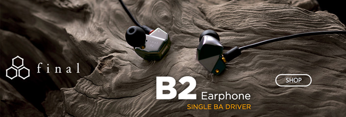 Final Audio B Series Earphones Available for Pre-Order
