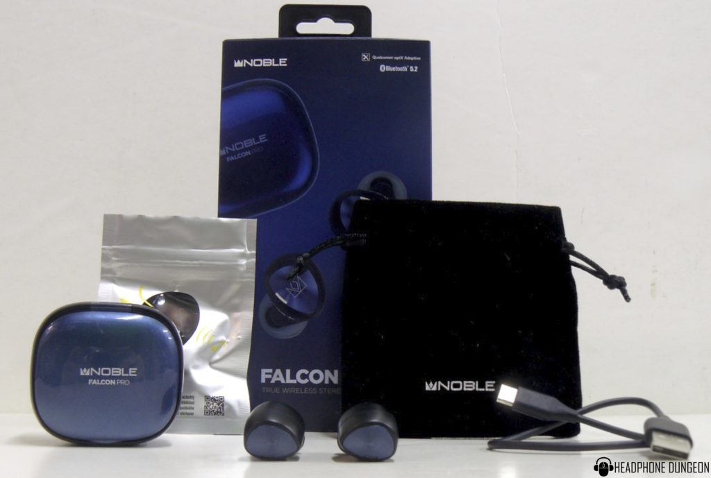 Noble Audio Falcon Pro Packaging